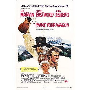 Paint Your Wagon Poster//Paint Your Wagon Movie Poster//Movie Poster//Poster Reprint