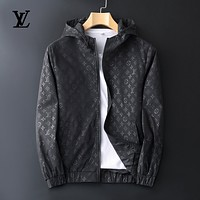 Louis Vuitton Men Fashion Casual Top  Hoodie Outerwear