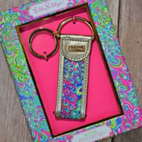 LILLY PULITZER: Key Fob - Lilly's Lagoon