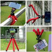 FFFAS car phone holder flexible octopus tripod bracket selfie stand mount monopod styling accessories For mobile phone camera
