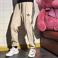 Adidas Newest Summer Men Women Casual Print Sport Pants Trousers Sweatpants