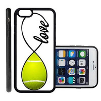 RCGrafix Brand Tennis Apple Iphone 6 Plus Protective Cell Phone Case Cover - Fits Apple Iphone 6 Plus
