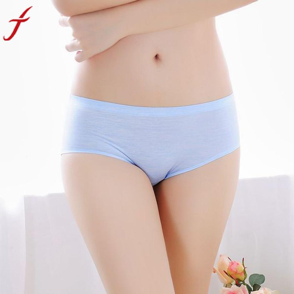 Image of Ladies Breathable Seamless One Size Slimming Lingerie Briefs