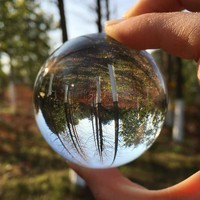 60mm Rare Clear crystal ball Sphere crystal glass balls for sale fengshui ball for home decoration