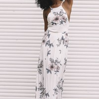 Oh So Delicate White Maxi Dress