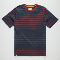 CAPTAIN FIN Time Warp Mens T-Shirt | Solid & Stripe Tees