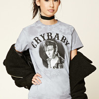 Crybaby Graphic Tie-Dye Tee