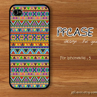 Actec triangle colorful style : Handmade Case for Iphone 4/4s , Iphone 5