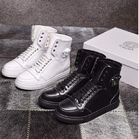 Versace Sneakers With High Help Shoes-13
