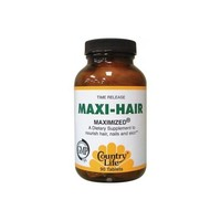 Maxi-Hair Time Release, 90 Tablets by Country Life