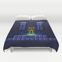 Metroid Duvet Cover by Likelikes