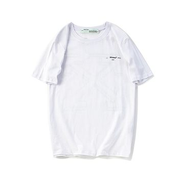 Cheap Women's and men's OFF WHITE t shirt for sale 501965868-021
