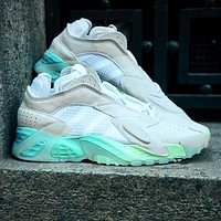 ADIDAS STREETBALL street style with bright colors White-blue