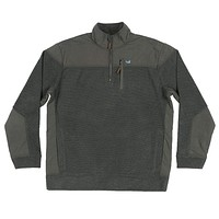 Barton Vintage Pullover in Charcoal Gray by Southern Marsh
