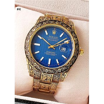 Rolex Tide brand high-end personality wild carved quartz watch #4