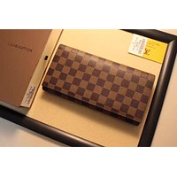 LV Louis Vuitton MONOGRAM LEATHER WALLET