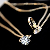 True Love Ring Necklace