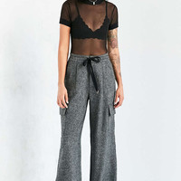 Silence + Noise Phoebe Wide-Leg Trouser - Urban Outfitters