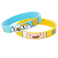 Adventure Time Best Buds Rubber Bracelet 2 Pack