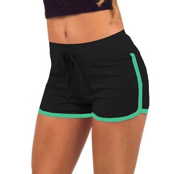 Women Sports  Shorts Cotton High Waist Gym Cycling Sport Short Feminino Plus Size  Yoga Shorts Workout Fitness Running Sport