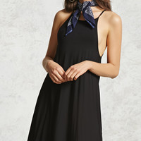 Contemporary Halter Mini Dress