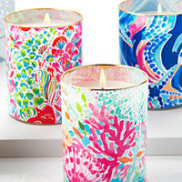 Scented Glass Candle | 500918 | Lilly Pulitzer