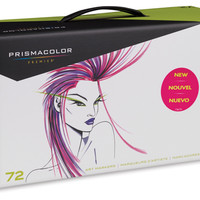 19901-1729 - Prismacolor Premier Double-Ended Brush Tip Marker Sets - BLICK art materials
