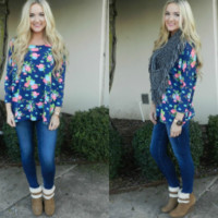 Fall for Floral Piko