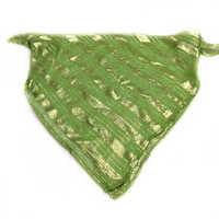 Lime Green Scarf, Christmas gift for Best friend Office coworker Gift, Lime Green Scarf Gift for my Friend