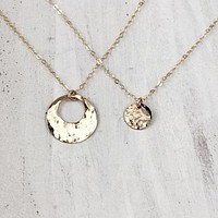Mother and Daughter Necklaces