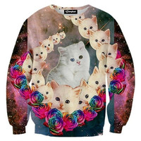Galaxy Cat Crewneck