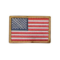 US Flag Patch Color- RWB (6 Pack)