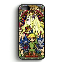 Legend of Zelda Stained Glass iPhone 4s iPhone 5s iPhone 5c iPhone SE iPhone 6|6s iPhone 6|6s Plus Case