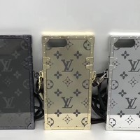Mirror Lv Monogram Trunk Case