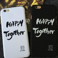 happy together iphone 5se 5s 6 6s plus case cover gift 284 2