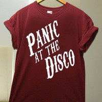Panic At The Disco logo Available shirt for men and woman size S - XXL