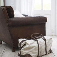 Vintage Canvas Weekend Bag ? Cox & Cox, the difference between house and home.