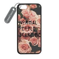 CASECOCO(TM) American Horror Story AHS Plastic TPU Case Cover Skin For iphone 5 5S