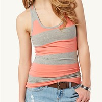 Rugby Striped Racerback Tank