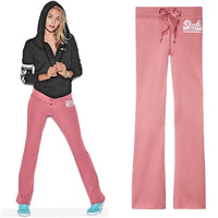 Victoria's Secret PINK Pink Pearl University Flare Sweatpants