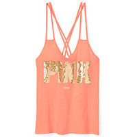 Criss-Cross Tank - PINK - Victoria's Secret