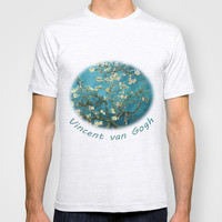 Blossoming Almond Tree, Vincent van Gogh. T-shirt by ArtsCollection