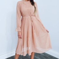 Oh So Gorgeous Dress: Blushed Nude/Ivory