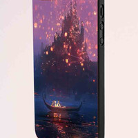 Tangled Lanterns Concept Art Painting iPhone 5 Case