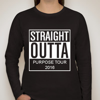 Click here to support PURPOSE TOUR! LONG SLEEVE! organized by Caroline Waldman