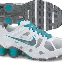Nike Womens Running Shoes SHOX TURBO+ 12 Pure Platinum / Cool Grey SZ 6.5