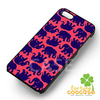 Lily Pulitzer Elephant Pattern-N41yh for iPhone 4/4S/5/5S/5C/6/ 6+,samsung S3/S4/S5,S6 Regular,S6 edge,samsung note 3/4