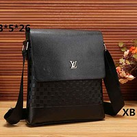 Louis Vuitton LV  Fashion Women Leather Satchel Shoulder Bag Crossbody