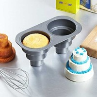 2 Cavity Three Tier Cake Pan