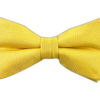 Solid Butter Gold (Linen Bow Ties) from TheTieBar.com - Wear Your Good Tie Everyday